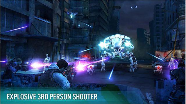 ► http://www.siberman.org/2015/06/terminator-genisys-revolution.html  Terminator Genisys: Revolution, android cihazlarınızda ücretsiz olarak oynayabileceğini ve bolca aksiyon içeren Terminator oyunu. Yakın bir zaman çıkacak olan Terminator Genisys filminin resmi oyunu olan Terminator Genisys: Revolution'da insanlığı kurtarmaya çalışan ve robotlarla savaşan bir kahramanı yöneteceksiniz. Macera Skynet güçleri tarafından hapis edildikten sonra başlıyor.