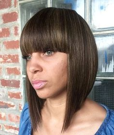 pictures of bob haircuts with bangs 1000 ideas about sew in with bangs on 4309