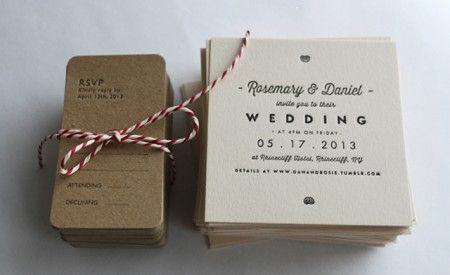 Letterpress Wedding Stationery UK Archive