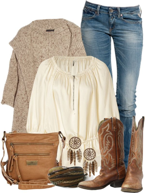 """""""Country Chic"""" by qtpiekelso ❤ liked on Polyvore"""