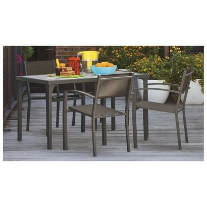 300 Threshold  Lagos Sling Patio Dining Furniture   Target47 best Home  Outdoor images on Pinterest   Furniture collection  . Outdoor Dining Furniture Houston. Home Design Ideas