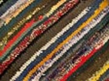 DIY: Make a Unique Homemade Rug with Recycled Clothing by Nancy Bubel on Mother Earth News