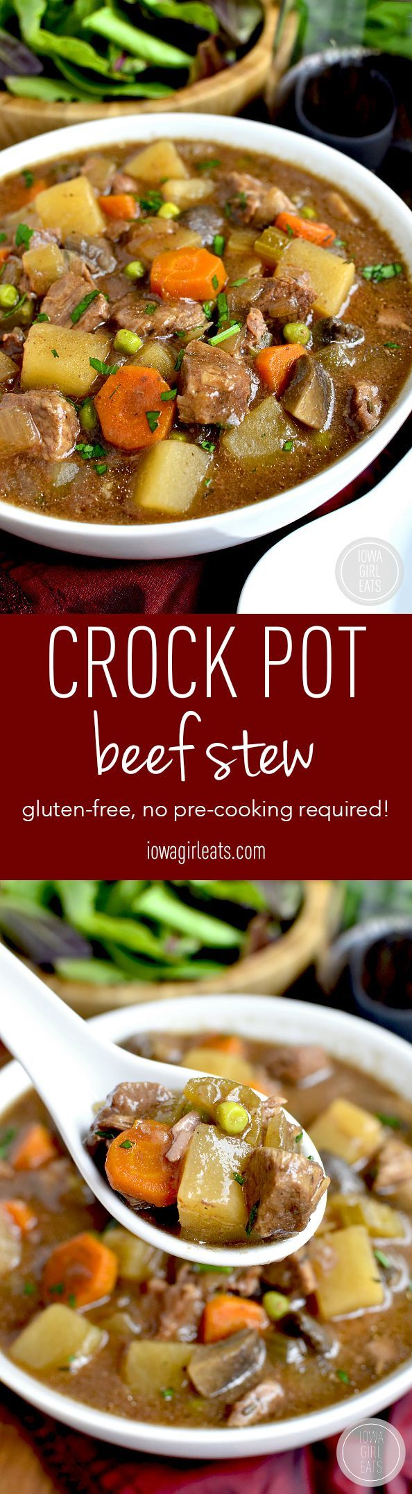Crock pot beef stew.