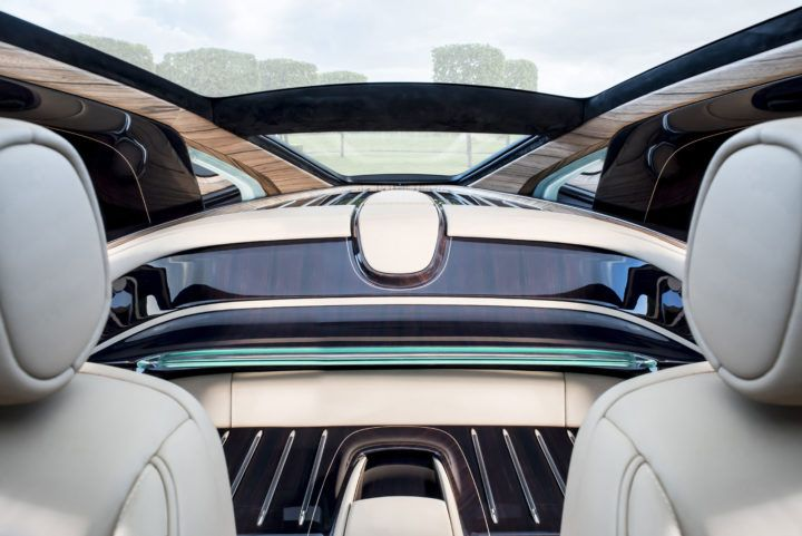 Rolls-Royce Sweptail Interior