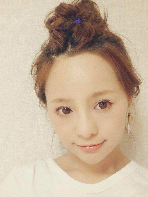かわいすぎるママモデル♡田中亜希子さんの時短ヘアアレンジまとめ | folk