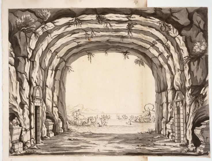 85 best gah grotto images on pinterest france nymphs and 18th century - Coloriage grotte ...