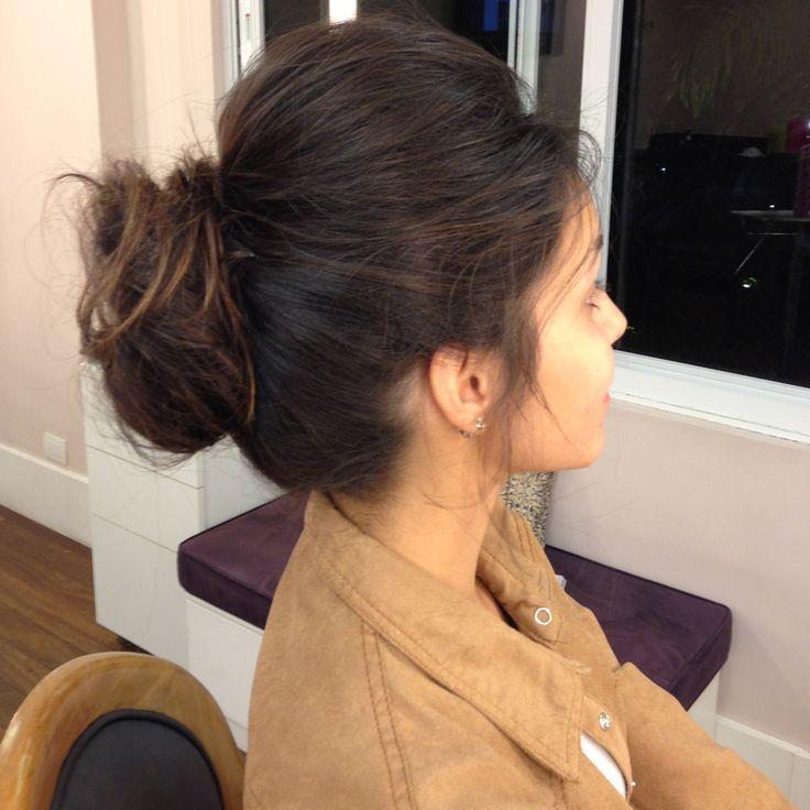 carol rache hair bun