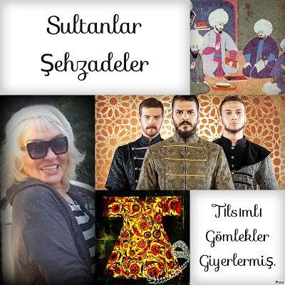 kitaplar:   Sultanlar - Şehzadeler -Tılsımlı GömleklerGiyerl...