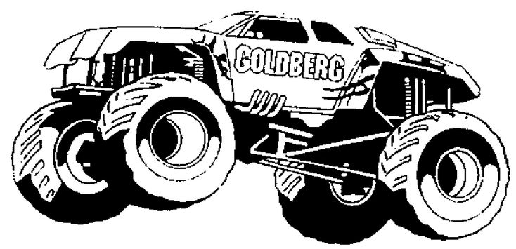 Mud Truck Coloring Pages games
