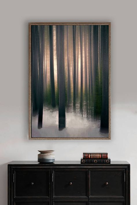 Abstract Tree Art brown tree wall art 8x10 photo forest wall #abstractart