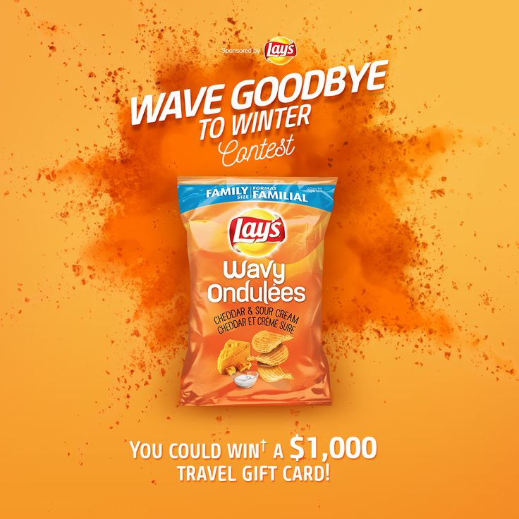 Wave Goodbye to Winter Contest by Wavy Lay's®