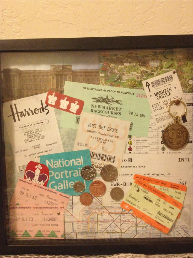 Travel Collage- i want to do this with my scotland and france stuff!!!