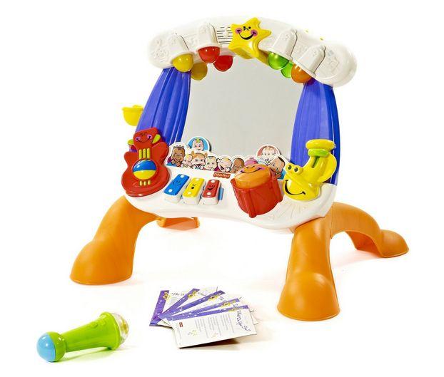 best developmental toy little superstar sing along mirror toy