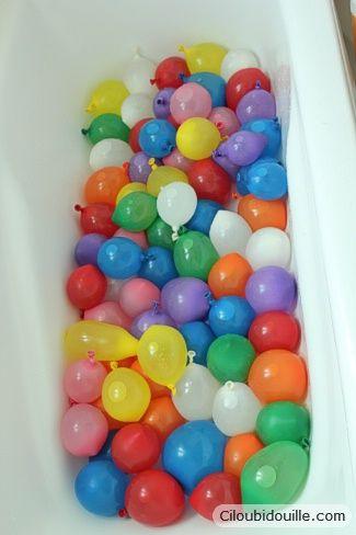 water birthday party ciloubidouille fete anniversaire enfant pinterest anniversaire de l. Black Bedroom Furniture Sets. Home Design Ideas