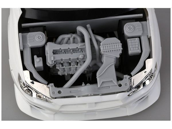 1/24 Mitsubishi Lancer Evolution X 4B11 Engine Kit   Google Search