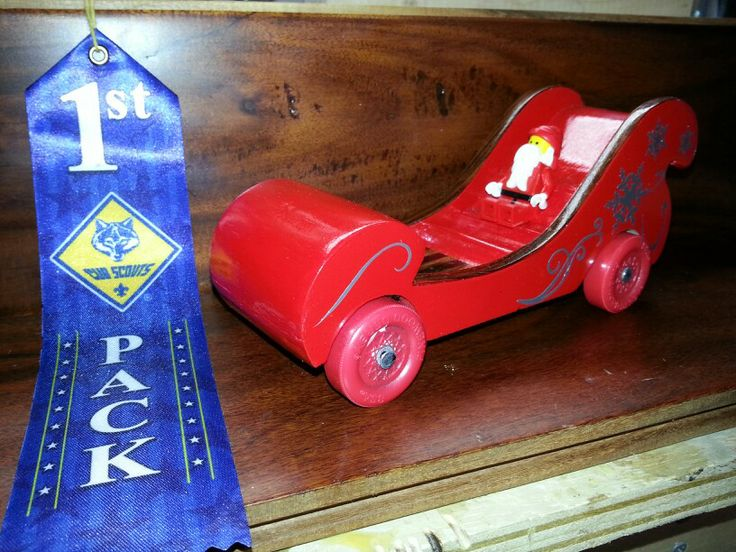 Sell Car Online >> Santa Sleigh | Pinewood Derby Cars | Pinterest