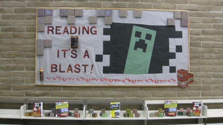 Minecraft Bulletin Board - created by Kristin