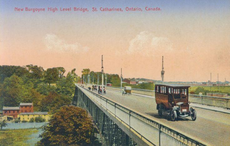 New Burgoyne High Level Bridge St Catharines Ontario Canada (image/jpeg)