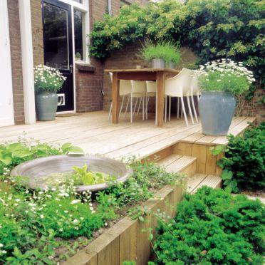 25 beste idee n over vorm snoei tuin op pinterest formele tuinen buxus sculpturen en tuinontwerp - Deco voor terras ...