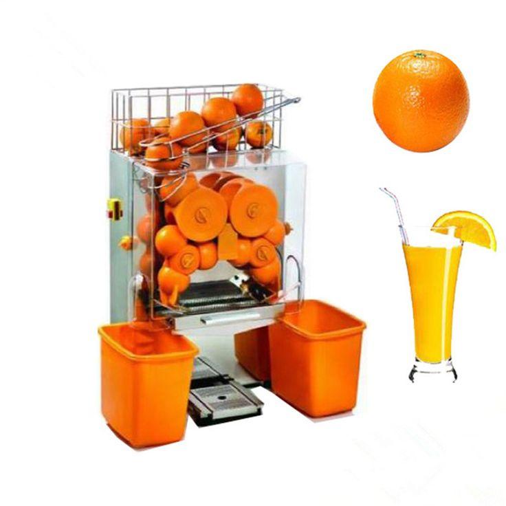 Commercial electric citrus orange juicer orange juice machine automatic orange extractor