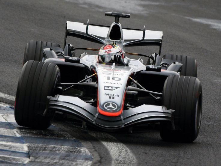 Juan Pablo Montoya - McLaren Mercedes - 2005