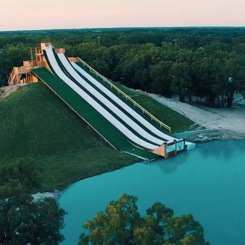 BSR Cable Park in Waco, Texas  In case anyone needed more convincing Waco is a hidden gem