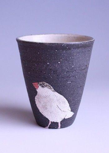 可愛い♪ムラタカオリさんの作る個性豊なアニマルカップはオブジェにもなる可愛さ