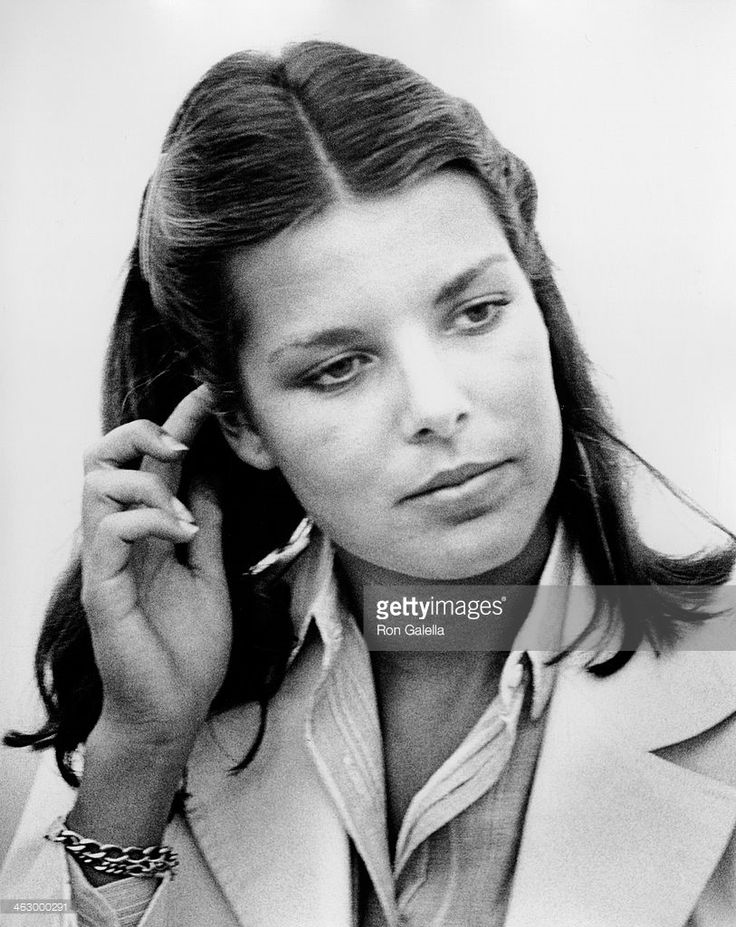 OCEAN CITY, NJ - JULY 30: Princess Caroline of Monaco sighted on July 30, 1978 at the Ocean City Municipal Airport in Ocean City, New Jersey. (Photo by Ron Galella, Ltd./WireImage)
