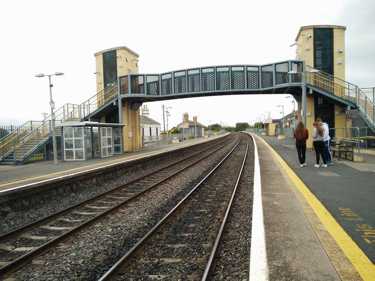 Tracks under bridge