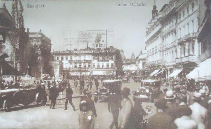 Bucuresti - Calea Victoriei - anii 30
