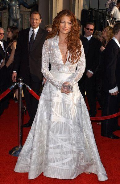 Debra Messing Photos: Celebs in White Dresses