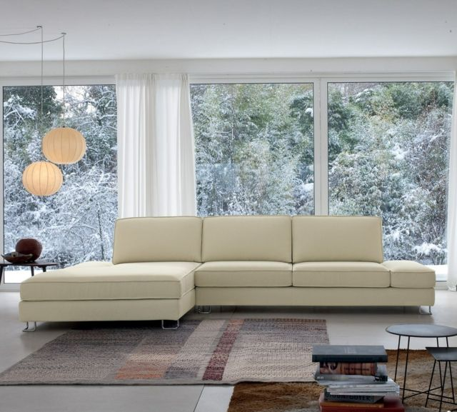 Wunderbar Ecksofa Im Wohnzimmer U2013 Bequeme Sitzecke Zum Entspannen #bequeme #ecksofa  #entspannen #sitzecke