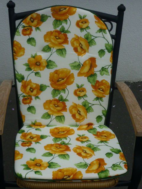 Stuhlkissen Sitzkissen Stuhlauflage Hochlehner 96 x 46 x 3 NEU