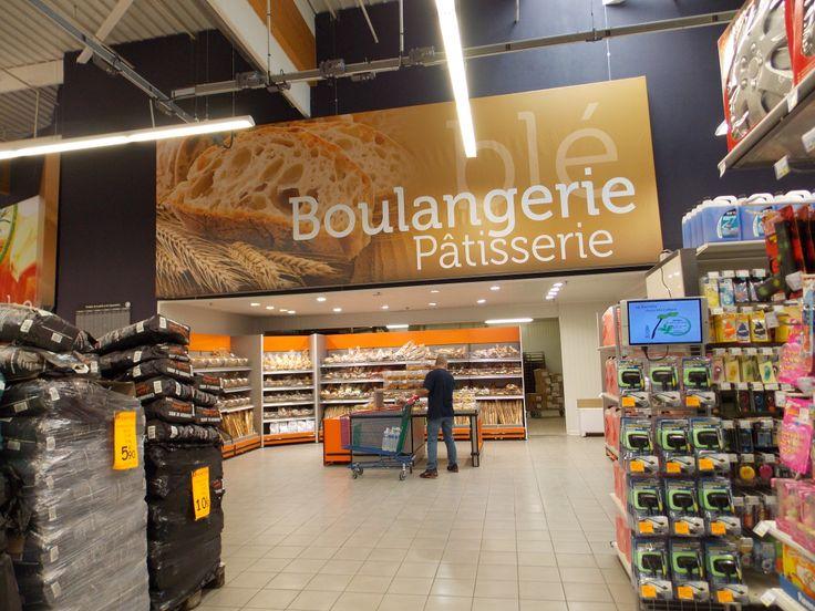 Toile rayon boulangerie. © Pub Colaut
