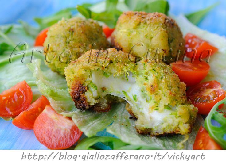 Polpette di zucchine e pancarre senza uova