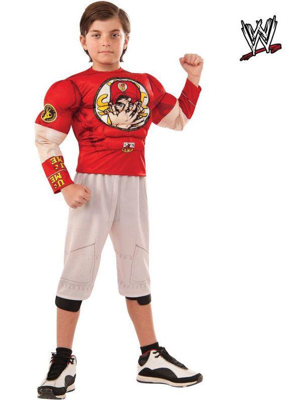 Boy's WWE Muscle Chest John Cena Costume