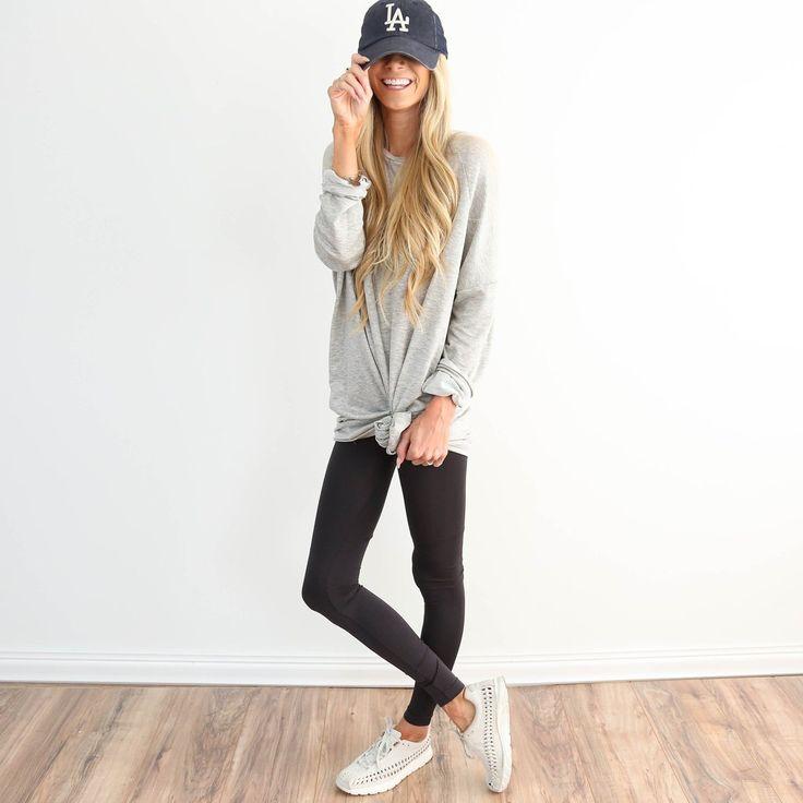Basic Legging in Grey