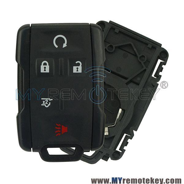 4 Button Smart Key Fob Remote Silicone Rubber Protective Cover