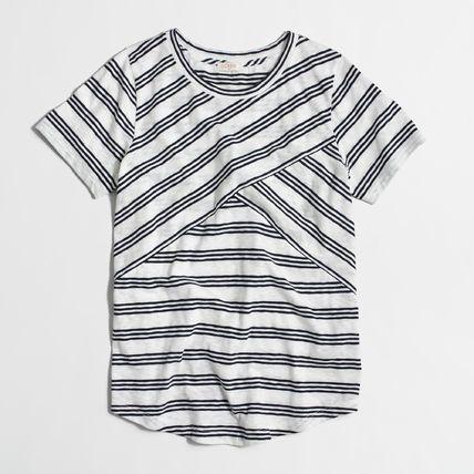 J Crew Tシャツ・カットソー 【送料関税込】JCREW☆クロスストライプTシャツ(2)