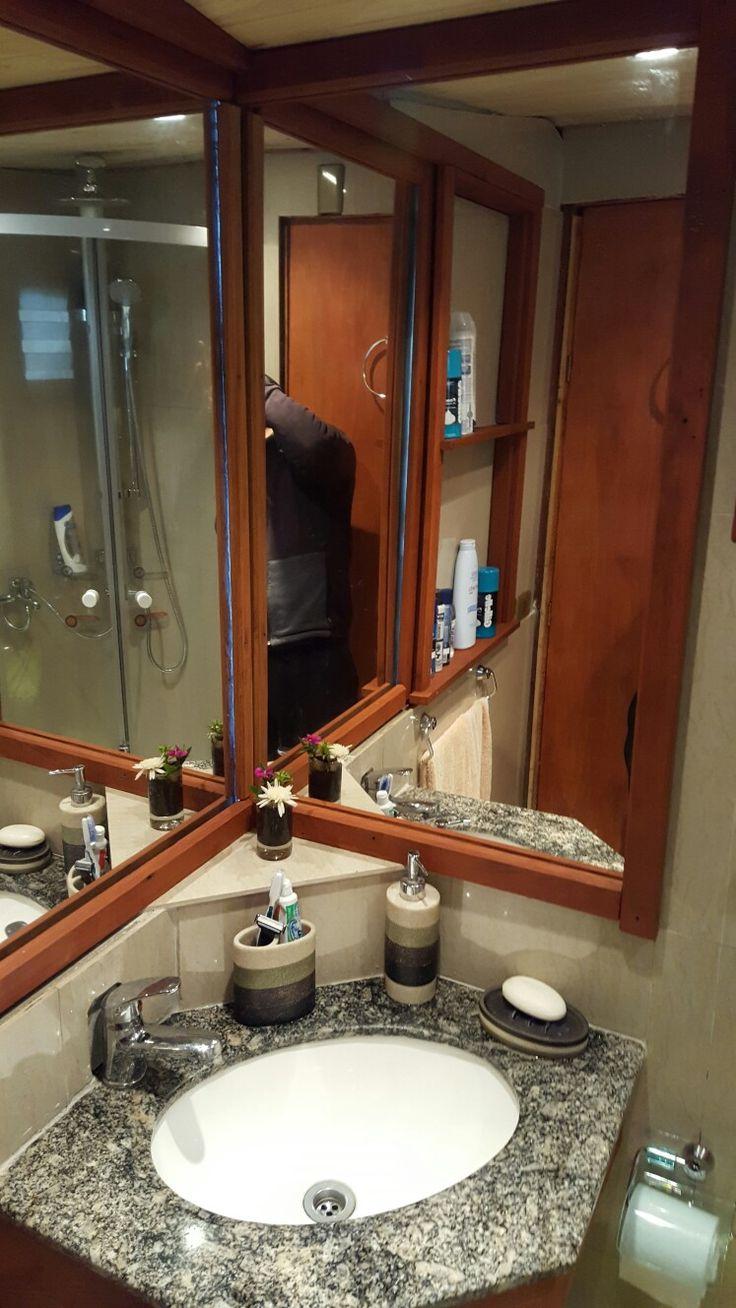 Baño pequeño / bathroom modern