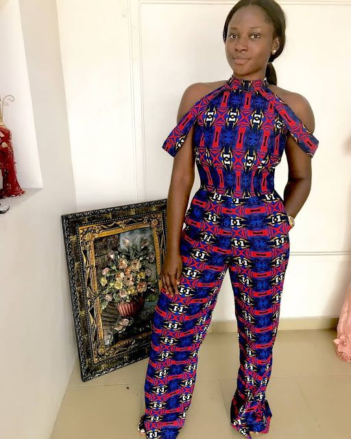 7720ac6b031 African Print Jumpsuit Styles 2018 You Need to Express Your Beauty -  Zaineey s Blog FacebookTwitterGoogle+WhatsAppAddthis