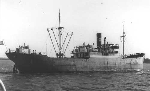 D/S Borgfred - Norwegian Merchant Fleet 1939-1945