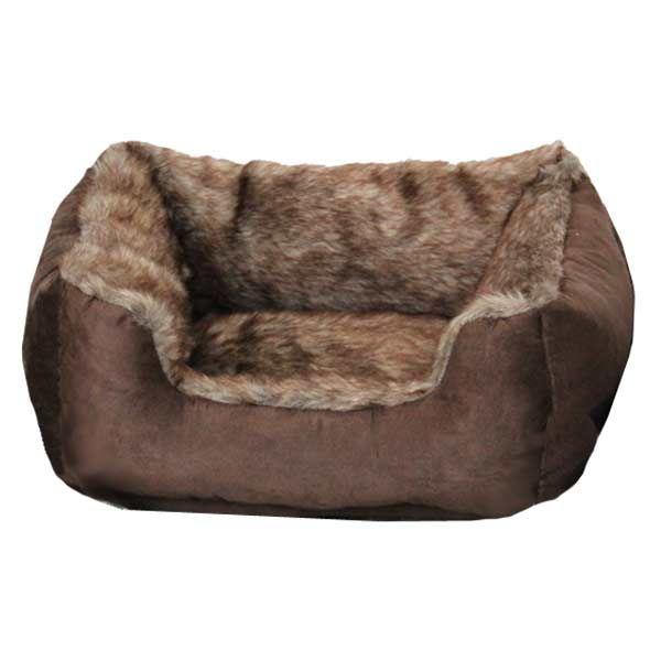 Barkshire Faux Fur Rectangular Dog Bed on Sale   Free UK Delivery   PetPlanet.co.uk