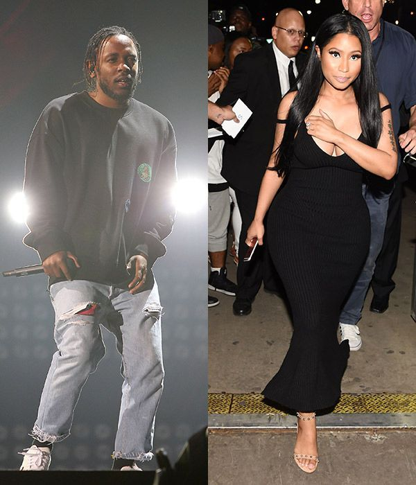 Kendrick Lamar Flirting With Nicki Minaj? Seeing Hearts After Hearing Her New Song