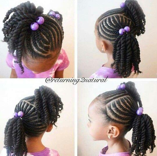 black kids hair ideas
