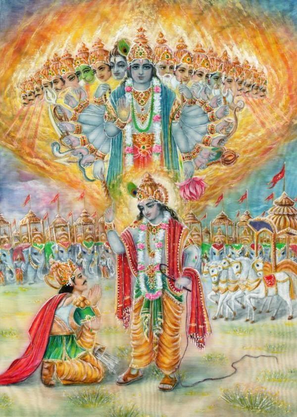 Arjuna | Advent of Bhagavad Gita