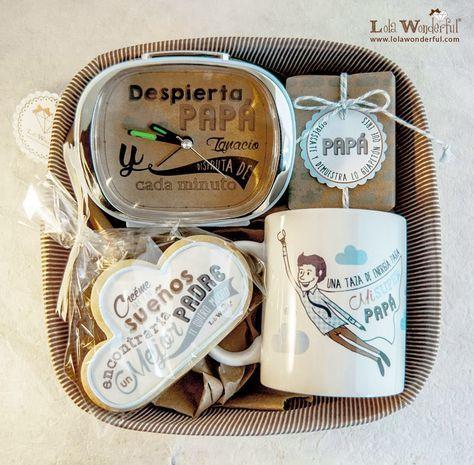 Lola Wonderful_Blog: Regalos personalizados para el día del Padre (Chocolate Regalo Ideas)