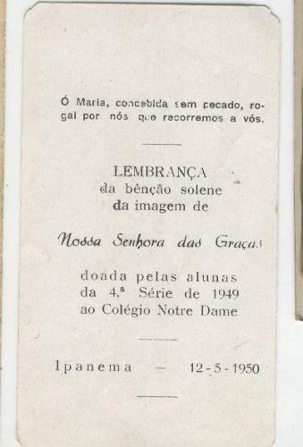 rio de janeiro - ipanema - colégio notre dame:*catolicismo