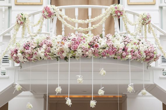 Flowers for Events by Dutch flower export company Florca Westland > Inspiration > Balcony