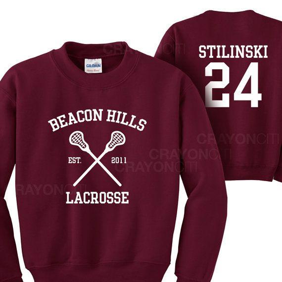 Teen Wolf phare collines Lacrosse Sweatshirt par MarsNewYork
